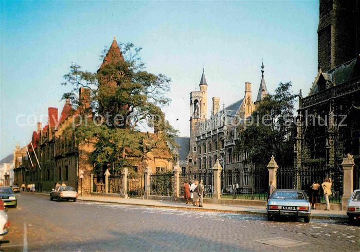 AK / Ansichtskarte Brugge Hotel Gruuthuuse Kat.
