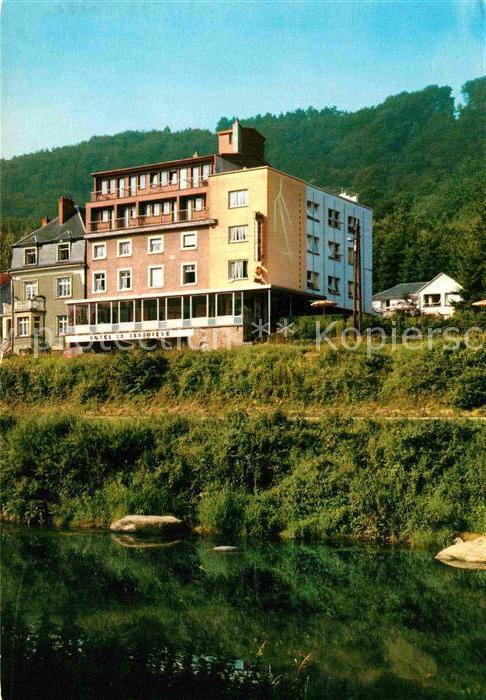 Baustoffe Luxemburg ak ansichtskarte weilerbach luxemburg hotel la sapiniere