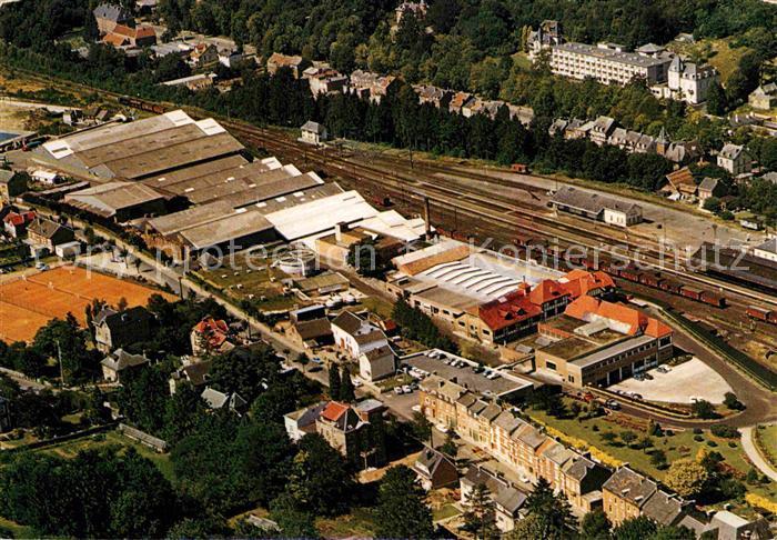 AK / Ansichtskarte Spa Liege Embouteillage Spa Monopole SA Fliegeraufnahme Kat.