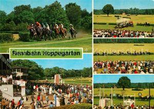 AK / Ansichtskarte Hoppegarten VEB Vollblutrennbahnen Pferdesport Kat. Hoppegarten