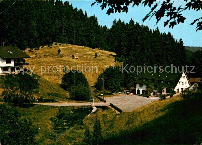 AK / Ansichtskarte Besenfeld Freizeitheim Erholungsheim Schwarzwaldmuehle Luftkurort Schwarzwald Kat. Seewald