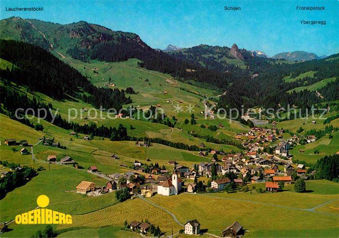 AK / Ansichtskarte Oberiberg Alpenpanorama Fliegeraufnahme Kat. Oberiberg