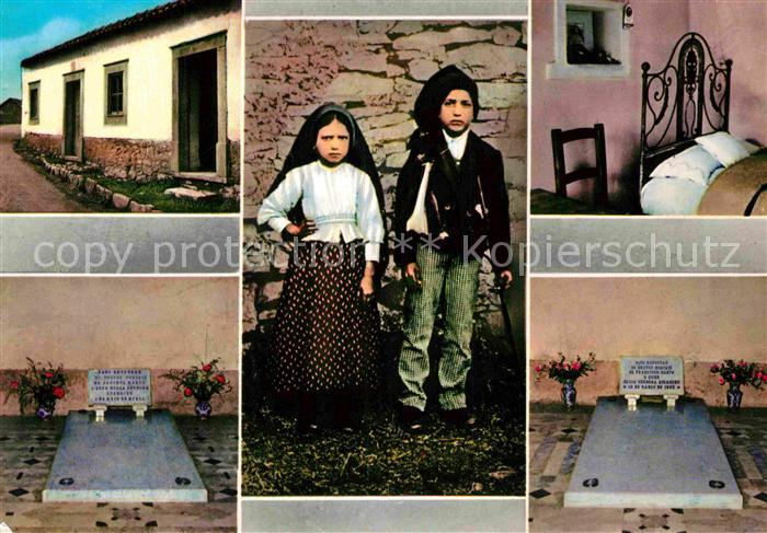 AK / Ansichtskarte Fatima Andenken von Francisco und Jazinta Kat. Portugal