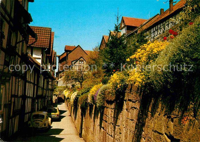 AK / Ansichtskarte Bad Sooden Allendorf Alte Fachwerkbauten am Fischerstad Kat. Bad Sooden Allendorf