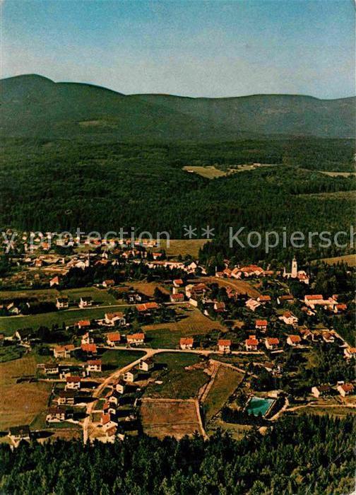 AK / Ansichtskarte Spiegelau Erholungsort Tor zum Deutschen Nationalpark Bayerischer Wald Fliegeraufnahme Kat. Spiegelau
