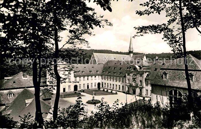 AK / Ansichtskarte Hachenburg Westerwald Zisterzienserkloster Abtei Marienstatt Kat. Hachenburg