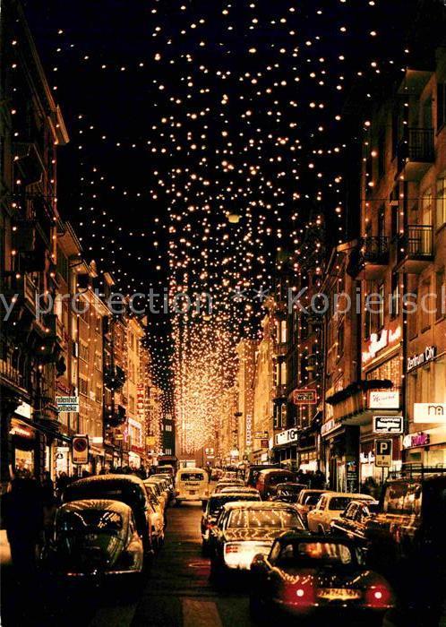 Zürich Weihnachtsbeleuchtung.Ak Ansichtskarte Zuerich Zh Rennweg Mit Weihnachtsbeleuchtung