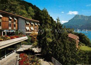 AK / Ansichtskarte Gersau Vierwaldstaettersee Hotel Ferienhaus Rotschuo Kat. Gersau