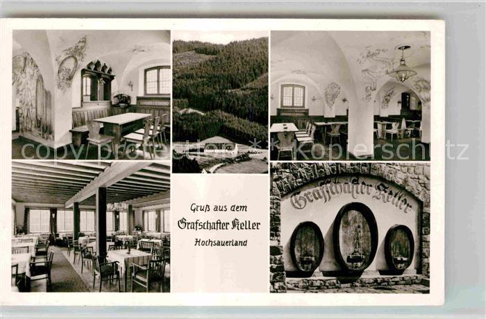 AK / Ansichtskarte Grafschaft Sauerland Grafschafter Keller Kat. Schmallenberg