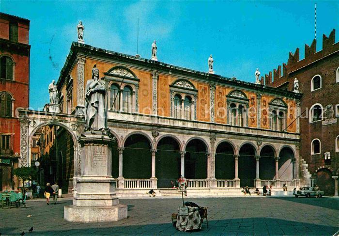 AK / Ansichtskarte Verona Veneto Piazza dei Signori Kat. Verona