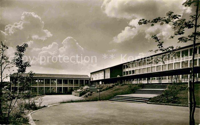 AK / Ansichtskarte Crailsheim Albert Schweitzer Gymnasium Kat. Crailsheim