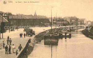 AK / Ansichtskarte Lens Hainaut Le Canal Quai de dechargement Kat.