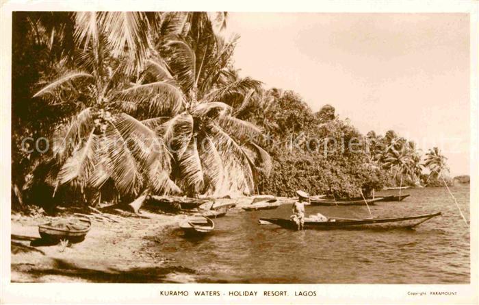 AK / Ansichtskarte Lagos Nigeria Kuramo Waters Holiday Resort