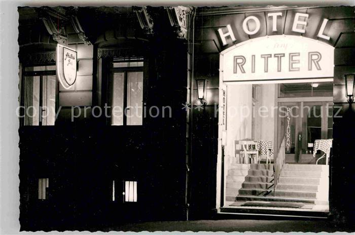 AK / Ansichtskarte Idstein Hotel Ritter Kat. Idstein