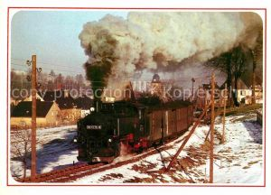 AK / Ansichtskarte Lokomotive Lok 991775 8 Cranzahl  Kat. Eisenbahn