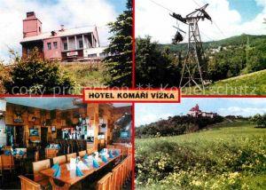 AK / Ansichtskarte Krupka Hotel Komari Vizka Restaurant Sessellift Kat. Graupen