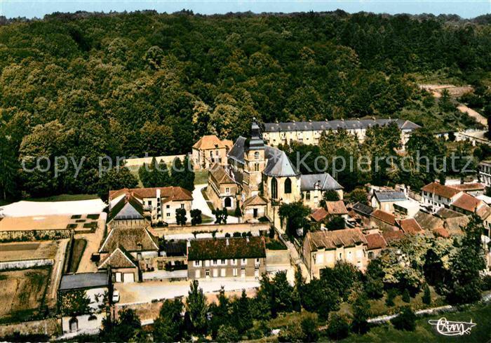AK / Ansichtskarte Hautvillers Eglise Abbatiale Fliegeraufnahme Kat. Hautvillers
