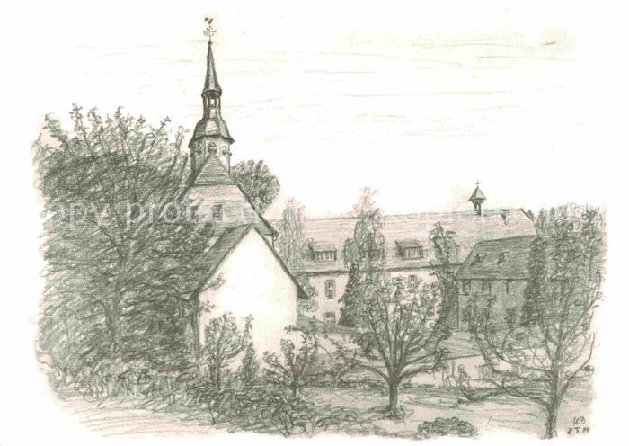 AK / Ansichtskarte Altenstadt Hessen Benediktinerinnenabtei Kloster Engenthal Kat. Altenstadt