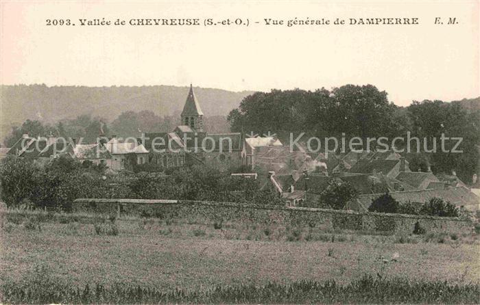 AK / Ansichtskarte Dampierre en Yvelines Vue generale Vallee de Chevreuse Kat. Dampierre en Yvelines