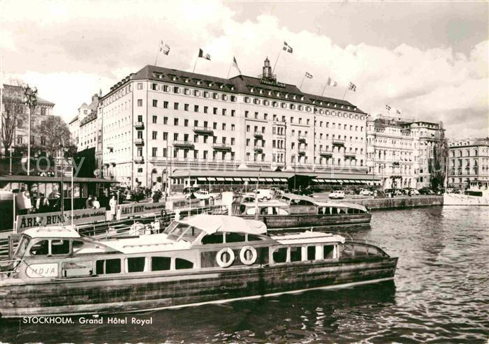 AK / Ansichtskarte Stockholm Grand Hotel Royal Kat. Stockholm