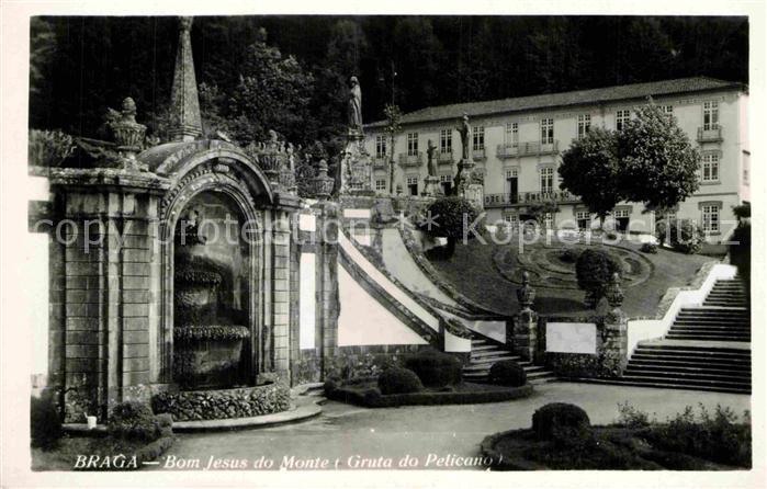 AK / Ansichtskarte Braga Bom Jesus do Monte Kat. Braga
