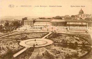AK / Ansichtskarte Bruxelles Bruessel Jardin Botanique Eglise Sainte Marie Kat.