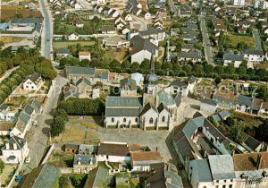 AK / Ansichtskarte Artenay Vue aerienne Eglise Saint Victor et le quartier nord Kat. Artenay