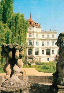 AK / Ansichtskarte Ploskovice Schloss