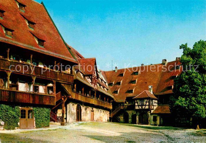 AK / Ansichtskarte Bamberg In der Alten Hofhaltung Kat. Bamberg