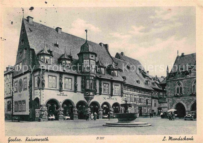 AK / Ansichtskarte Goslar Kaiserworth Kat. Goslar