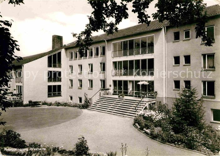 AK / Ansichtskarte Bad Godesberg Haus der Frauenhilfe Kat. Bonn