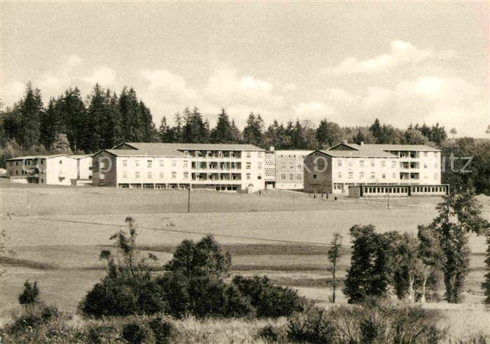 AK / Ansichtskarte Bad Steben Sanatorium Frankenwarte Kat. Bad Steben