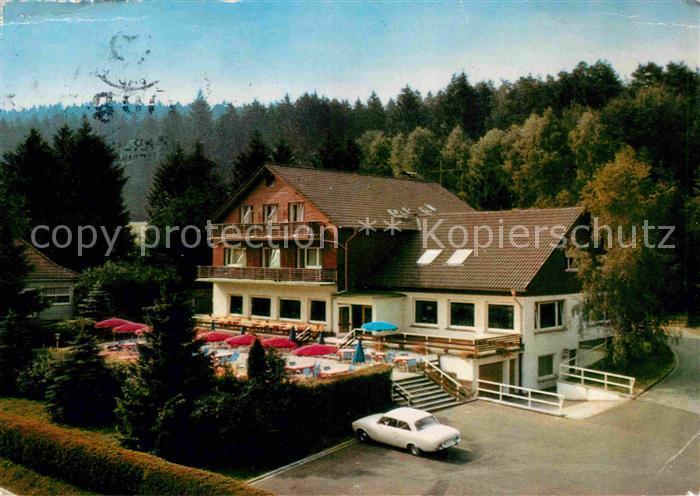 AK / Ansichtskarte Bad Orb Hotel Restaurant Cafe Wildpark Kat. Bad Orb