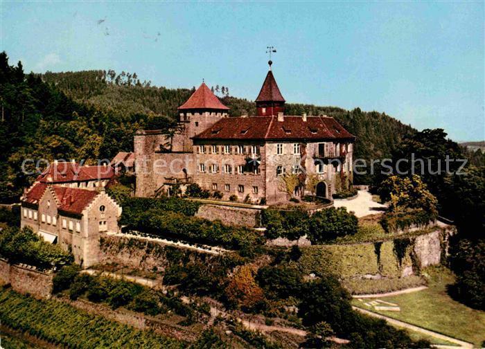 AK / Ansichtskarte Gernsbach Schloss Eberstein im Murgtal Kat. Gernsbach