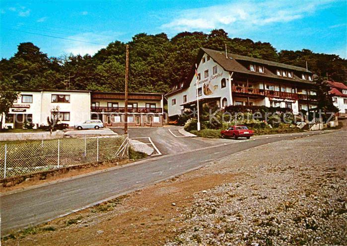 Ak Ansichtskarte Bad Brueckenau Hotel Restaurant Berghof Kat Bad
