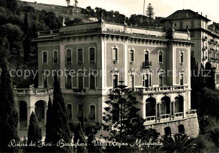 AK / Ansichtskarte Bordighera Villa Regina Margherita Kat. Bordighera