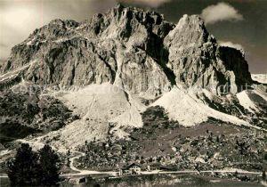 AK / Ansichtskarte Cortina d Ampezzo Albergo Passo Falzarego Lagazuol Dolomiti Berghaus Dolomiten Kat. Cortina d Ampezzo
