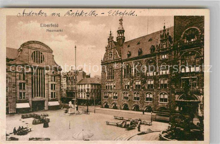 Ak elberfeld wuppertal in nordrhein westfalen ratskeller for Hotel wuppertal elberfeld