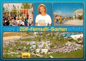AK / Ansichtskarte Mainz Rhein ZDF Fernsehgarten auf dem Lerchenberg