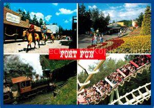 AK / Ansichtskarte Bestwig Wasserfall Hochsauerland Fort Fun Abenteuerland Achterbahn Kat. Bestwig