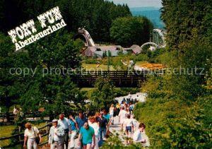 AK / Ansichtskarte Bestwig Wasserfall Hochsauerland Fort Fun Abenteuerland Kat. Bestwig