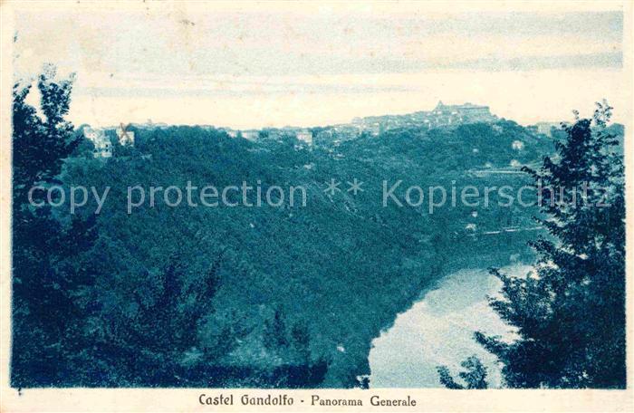 AK / Ansichtskarte Castel Gandolfo Panorama