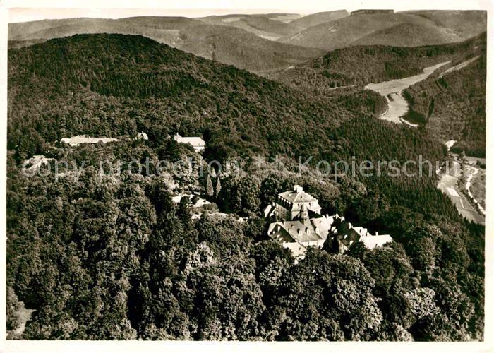 AK / Ansichtskarte Laasphe Bad Schloss Wittgenstein Kat. Bad Laasphe