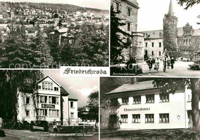 AK / Ansichtskarte Friedrichroda Chausseehaus Reinhardsbrunn Kat. Friedrichroda
