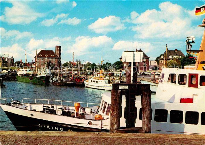 AK / Ansichtskarte Cuxhaven Nordseebad Hafen Kat. Cuxhaven