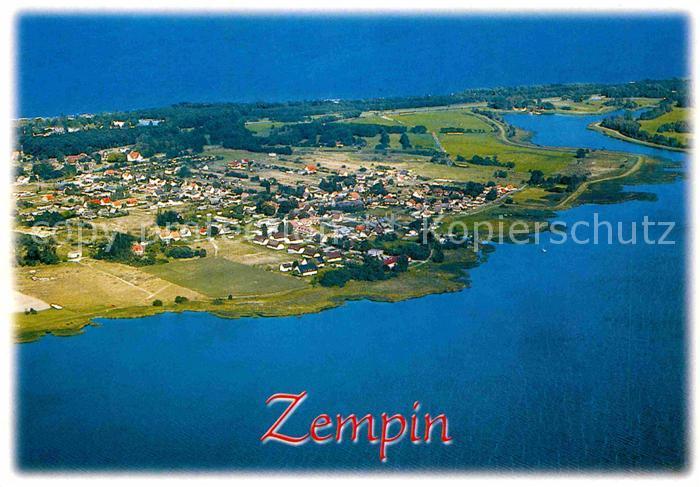 AK / Ansichtskarte Zempin Fliegeraufnahme Kat. Zempin