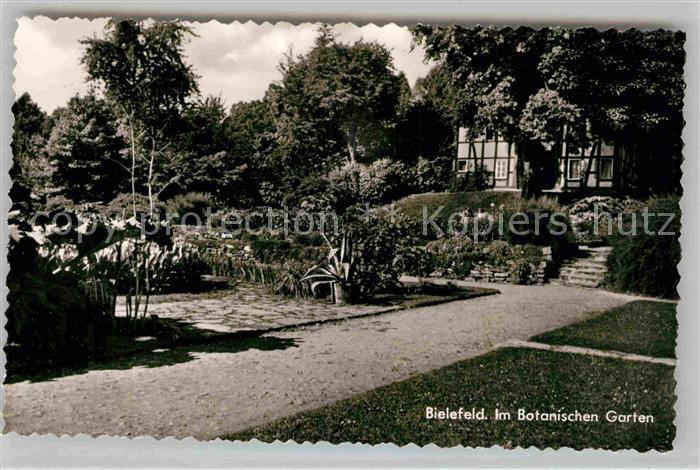 AK / Ansichtskarte Bielefeld Botanischen Garten Kat. Bielefeld