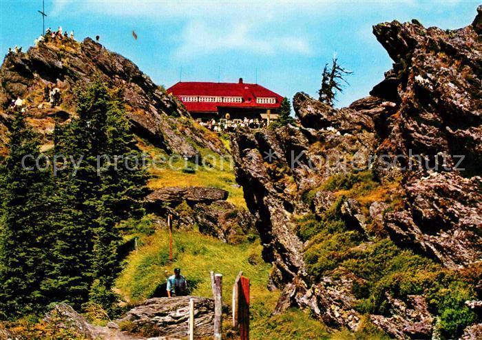 AK / Ansichtskarte Bayerischer Wald Schutzhaus auf dem Grossen Osser