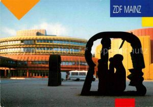 AK / Ansichtskarte Mainz Rhein ZDF