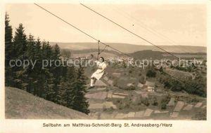AK / Ansichtskarte Sessellift Matthias Schmidt Berg St. Andreasberg Kat. Bahnen